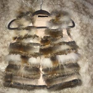 100% Fur vest